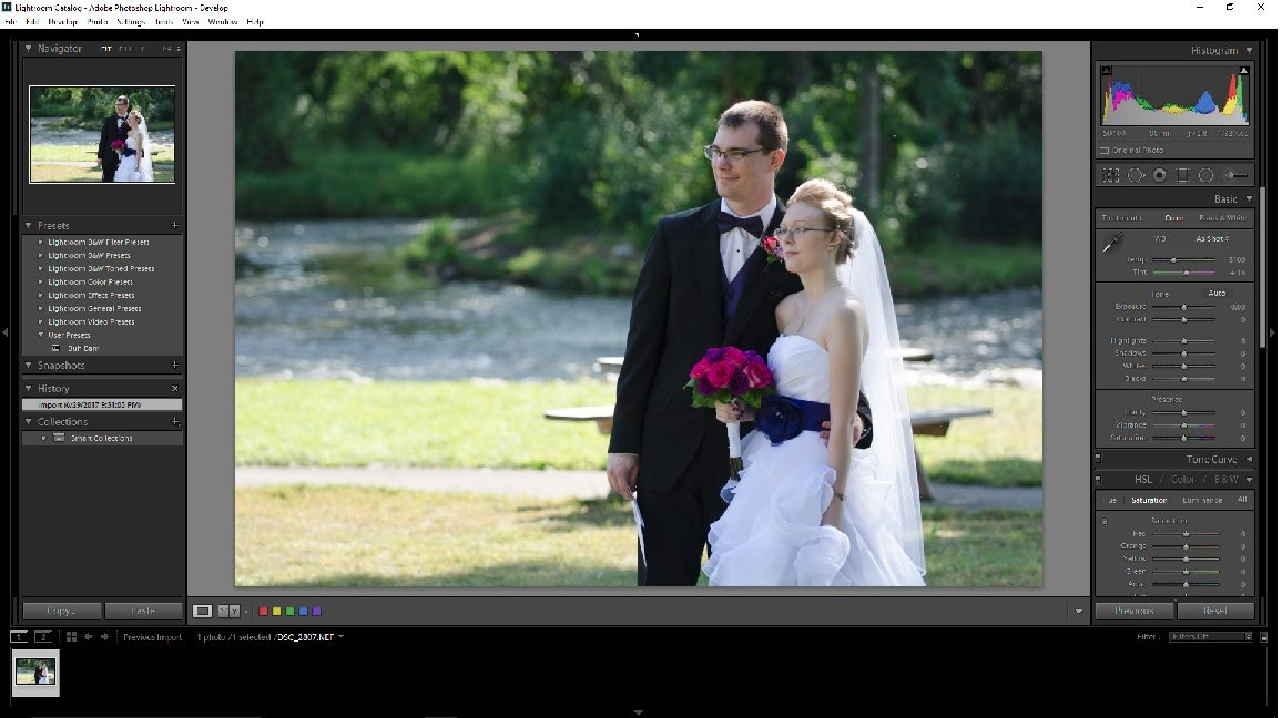 A Guide to Post Processing Wedding Images